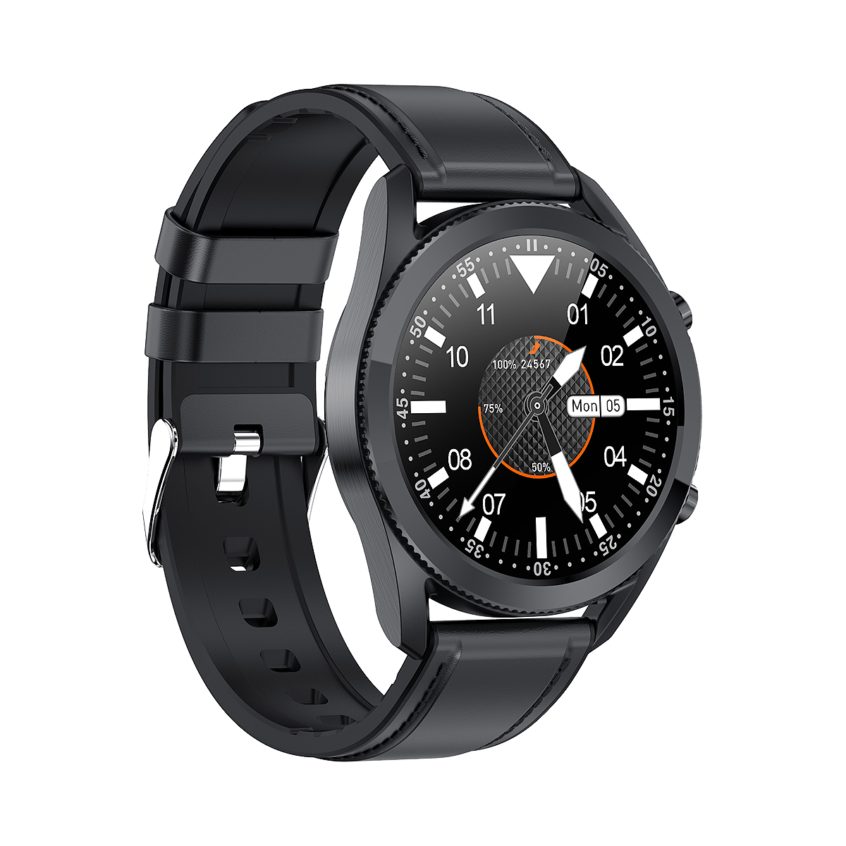 G33 Smart Watch Black With High Quality Screen and Microphone